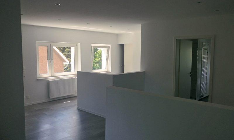 Modernisierung einer Dachgeschosswohnung